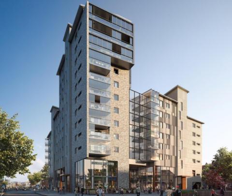 Byggstart närmar sig för Riksbyggens Brf Kronhöjden i Partille