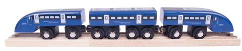 Bigjigs launches wooden toy replica of Southeastern's high speed train