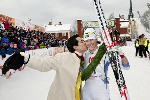 Susanne Nyström tog hem sjätte segern i Tjej Vasan