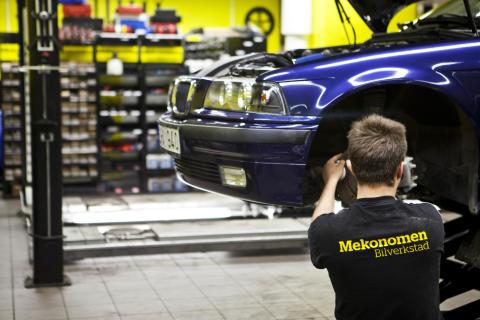 Lärande i Sverige AB startar fordonsprogram i samverkan med Mekonomen Group