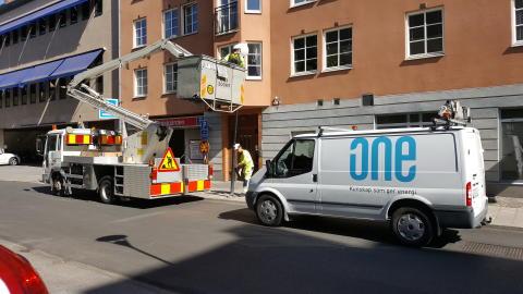 ONE Nordic får ansvar för att årligen byta ut 4500 ljuspunkter i Örebro