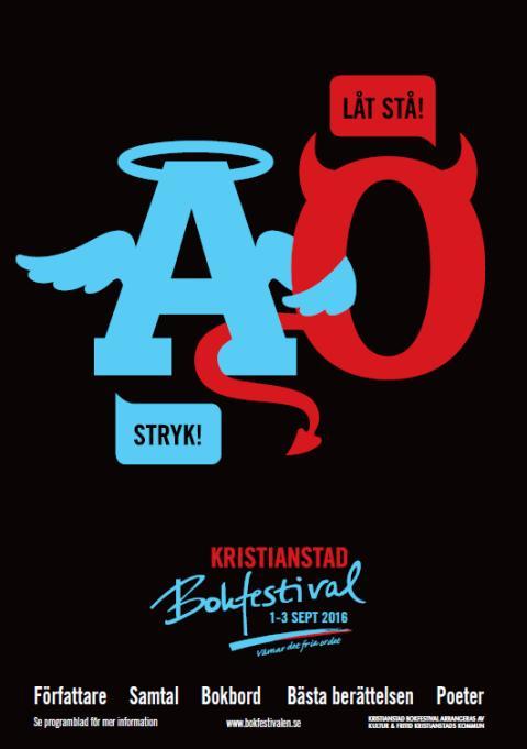 Kristianstad bokfestival värnar om det fria ordet