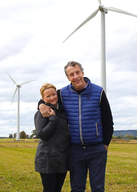 Ljusare tider och mycket blåst ger lägre elpriser  – enligt elbolaget Bixias elprisrapport