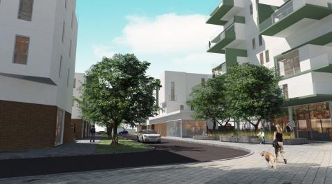Nytt rekord för bostadsbyggrätt i Limhamn