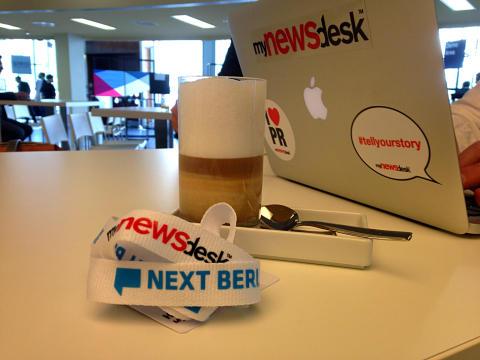 Mynewsdesk auf der NEXT14 - digitale Eindrücke