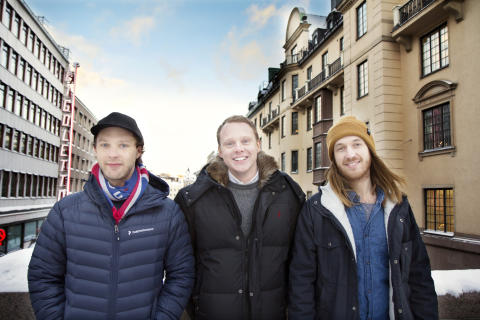 Tor Rauden Källstigen (VD), Robin Tuorda (Head of Sales) och Håkan Waara (CTO)