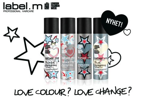 Nyhet fra label.m - highlighting toners!