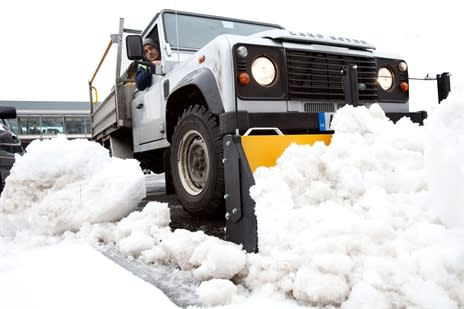 Mitie's winter gritting business wins gold with the Met Office Quality Mark scheme