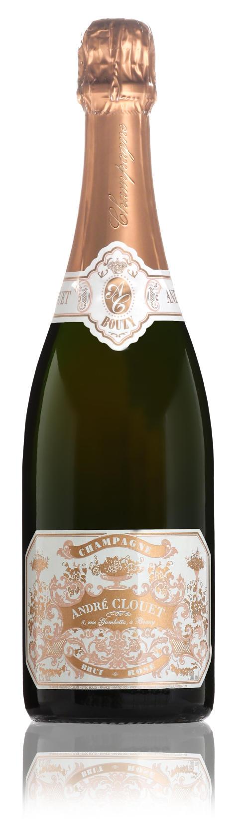 Champagne- Andre Clouet - Rosé