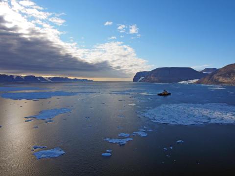 Expedition på väg till outforskad grönländsk glaciär