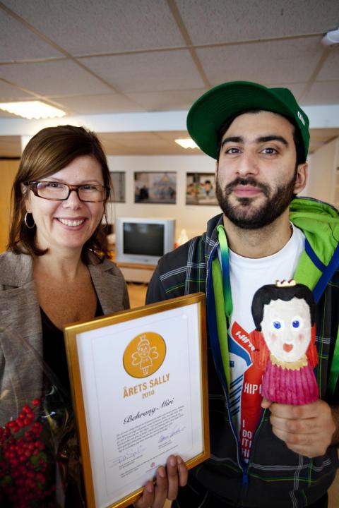 Behrang Miri är Årets Sally 2010