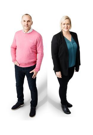 Vi hälsar Karin och Tomas välkomna till Aspholmen!