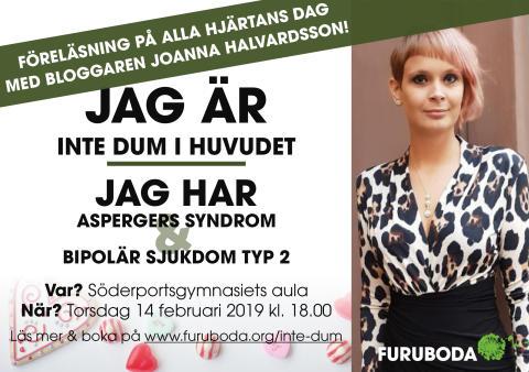 Populära bloggaren Joanna Halvardsson besöker Kristianstad på Alla hjärtans dag