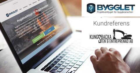 Kundreferens: Kungsbacka Sten & Entreprenad spar tid och pengar med Bygglet