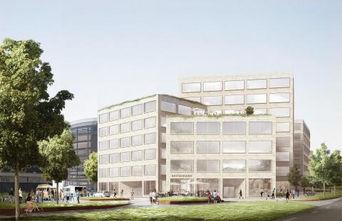 Arbetsförmedlingen största hyresgäst när Humlegården uppför 25 000 kvm kontor i Solna strand