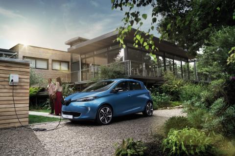 Renault ZOE vinner Miljöbästa bil 2017