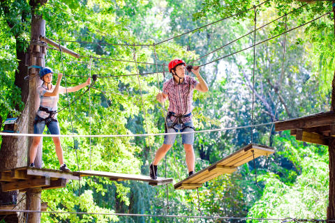 Kletterurlaub in Südtirol: Die 5 schönsten Kletter- und Hochseilgärten für Groß & Klein