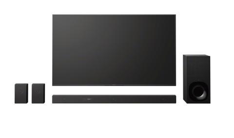 Världens första[1] Dolby Atmos® Soundbar med virtuellt tredimensionellt surroundljud