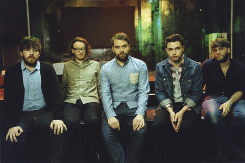 Pressebillede: Frightened Rabbit / 25. november i Lille VEGA