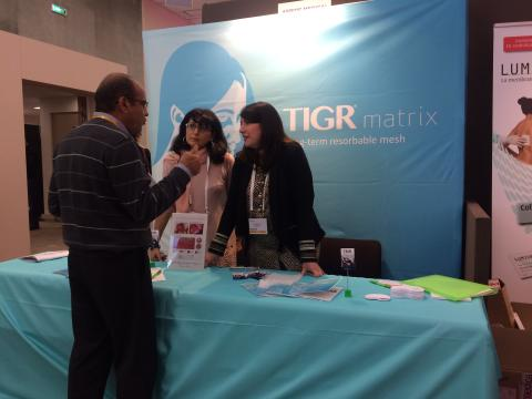 TIGR® Matrix at Paris Breast Rendez- vous 2016