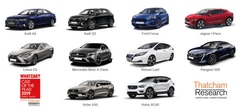 Thatcham Research reveals the ten safest new drives for 2019