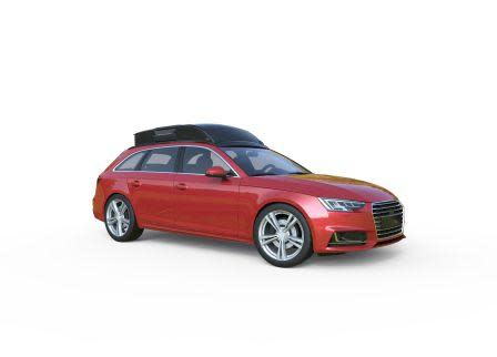 SEs Dachbox Audi A4 ausgeklappt Web