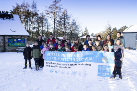 Gold awards for Forres primary schools