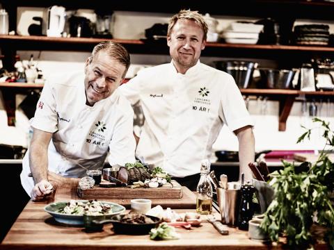 Fredrik Eriksson och Petter Danielsson