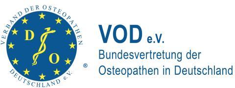 VOD-Mitglieder informieren bei der MEDICA über Osteopathie