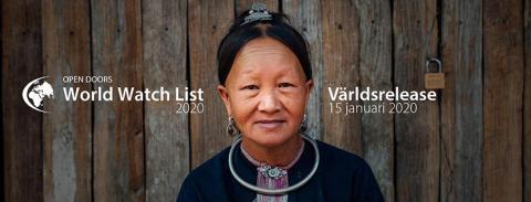 Påminnelse! Release av 2020 års World Watch List