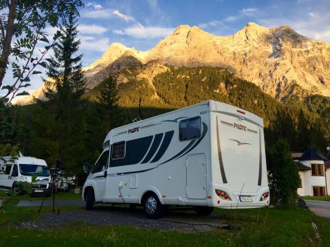 Gone Camping vid Zugspitze