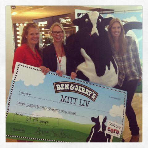 Mitt Liv får Ben & Jerry's check & starten till samarbete med Unilever