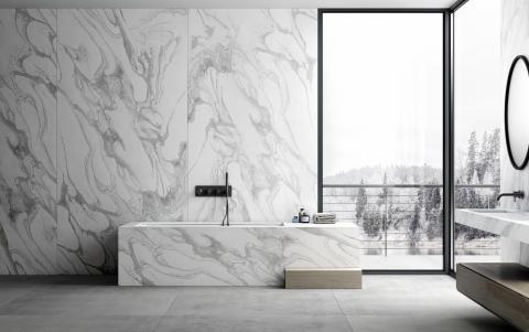 Dekton Bathroom - Sky