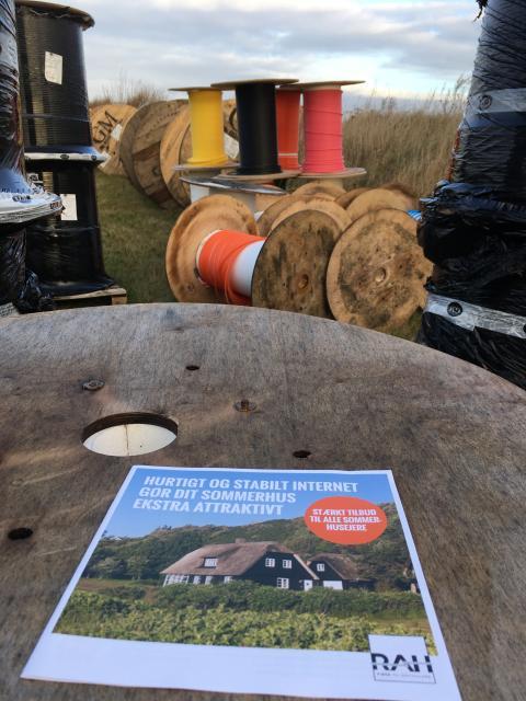 Skræddersyet fiberløsning til sommerhusejere i Ringkøbing-Skjern Kommune