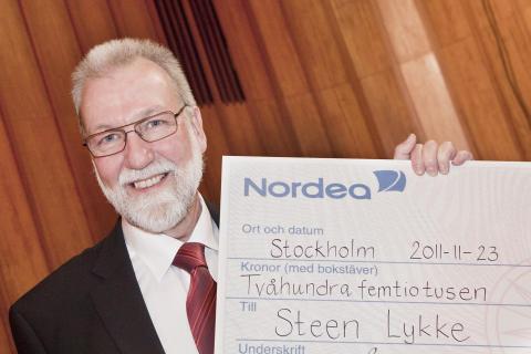 Internationell tunnelexpert vinnare av Sigge Thernwalls Stora Byggpris 2011