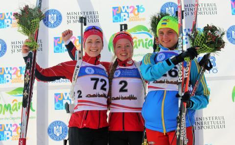 Dobbelt norsk på jentenes sprint i junior-VM (med rettelse)