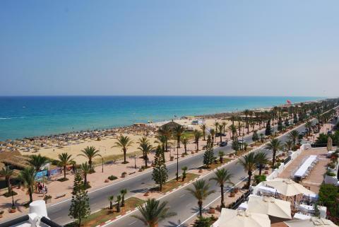 Jasmine Hammamet strand