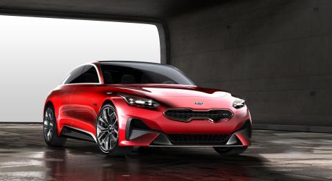Kia Proceed konsept avslørt før visningen på Frankfurt Motorshow
