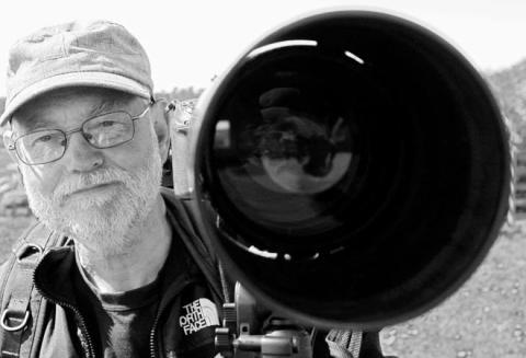 Naturfotograf Jarl von Scheele till Ängelholms stadsbibliotek