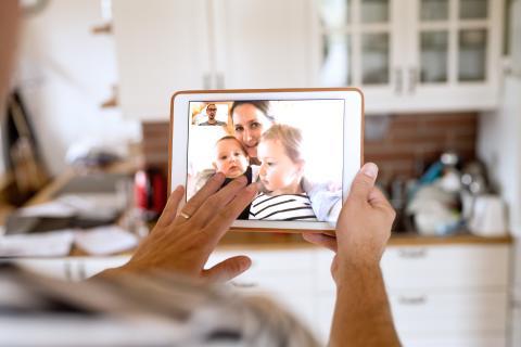 Dataforbruget på FaceTime er fordoblet