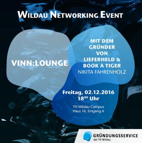 ViNN:Lounge: Netzwerktreffen für Existenzgründer und Mutmacher