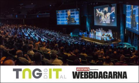 TNG IT Digital silverpartner på Webbdagarna 2016