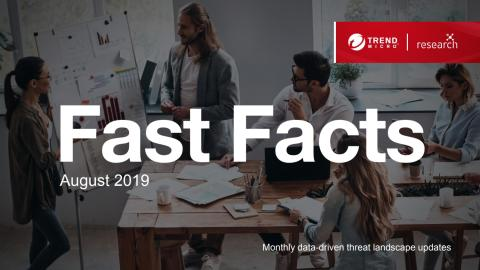 Fast Facts August 2019