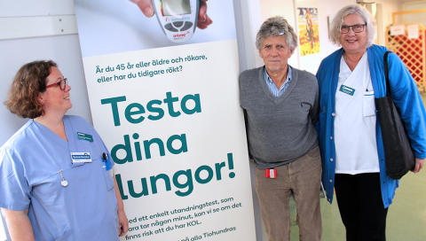 Kamp mot KOL i partnerskap med patienten