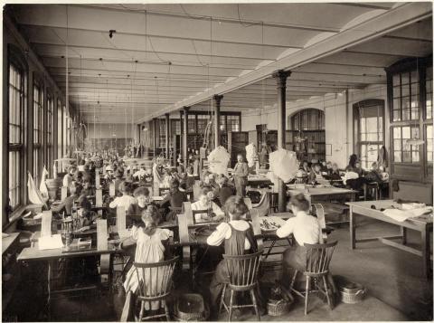 J A Wettergren & Co:s fabrik på Stigbergsliden 5