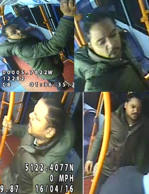 Appeal to identify man over assault on bus driver in Croydon