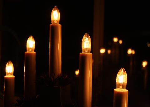 Säker julbelysning