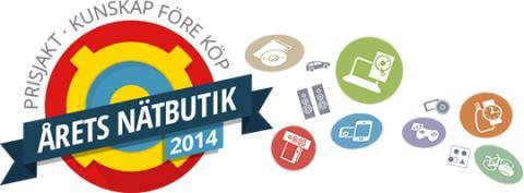 Nu är röstningen på Årets Nätbutik 2014 igång