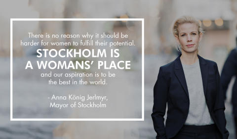 Anna König Jerlmyr, Mayor of Stockholm