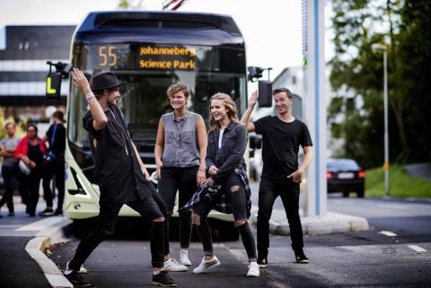 ElectriCity laddar för nästa fas – utökar trafiken med eldrivna fordon i Göteborg